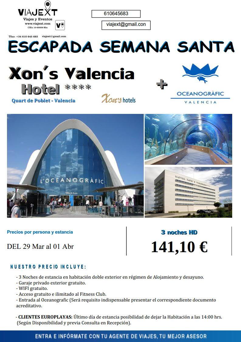 Oferta Semana Santa Valencia Viajext